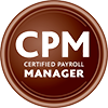 CPM - Certified Payroll Manager seal